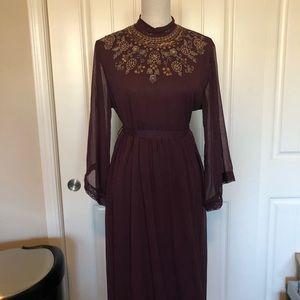Forever 21 floor length gown